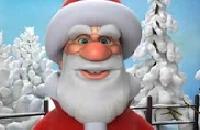 Pratende Kerstman