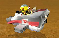 Robot Desert Race