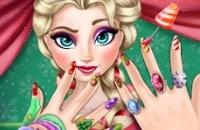 Elsa Weihnachts Manicure