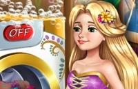 Rapunzel Dia Da Lavanderia