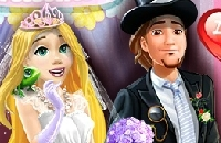 Rapunzel's Wedding Party