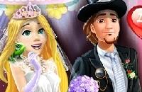 Festa De Casamento De Rapunzel