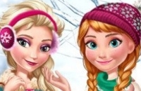 Elsa E Anna Tendências De Inverno