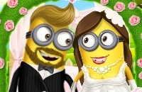 Minion Party Girl Mariage