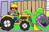 Diego Tractor: Limpeza Do Ambiente