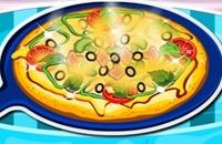 Cuisson De La Pizza Pour Le Dîner