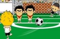 Speel nu het nieuwe voetbal spelletje Crazy Freekick