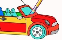 Autos Färbung Spiel