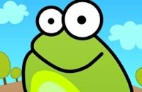 Tippen Sie Auf Den Frosch-Gekritzel