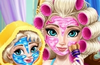 Elsa Mommy Makeover Real