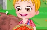 Bambino Hazel Pomodoro Agricoltura