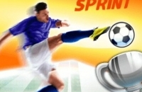 Speel nu het nieuwe voetbal spelletje Euro Soccer Sprint