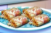 ÉCole De Cuisine De Sara: Chicken Canneloni