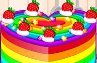 Cocinar La Torta Colorida