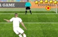Speel nu het nieuwe voetbal spelletje Penalty Shooters 2