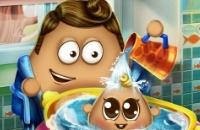 Pou Baby-Wash
