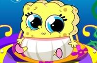 Spongebob Baby-Pflege
