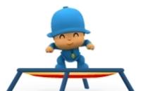 Pocoyo Trampoline Jump