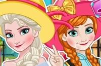 Elsa E Anna Polaroid