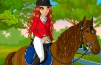 Horse Riding Dressup