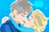 Elsa Kissing Jack