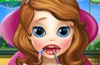 Sofia El Primero En El Dentista