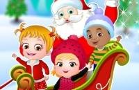 Bebê Hazel Surpresa Do Natal