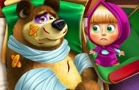 Mascha Und Der Bär Verletzter