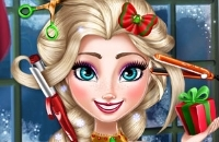 Ice Queen Christmas: Real Haircuts