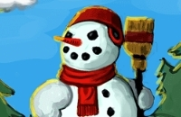 New Game: Build A Snowman
