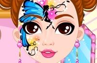 Muñeca De Moda Pintura Facial