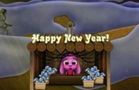 Fuegos Artificiales Del Año Nuevo De Toto