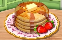 Saras Kochunterricht: Pfannkuchen