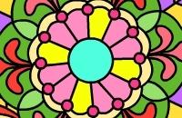 Mandala Färbung Spiel