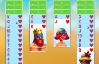 Spiel: Spider Solitaire Beach Resort