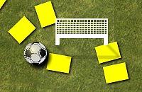 Speel nu het nieuwe voetbal spelletje Gele kaarten