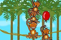 Monkeys Pile up