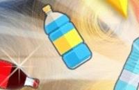 Flasche Flip Herausforderung