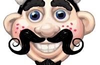 Herr Hairy Gesicht