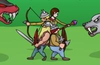 Vikings Vs Monstros