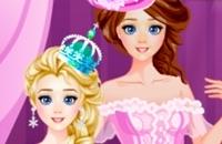 Elsa Sister Makeup Party