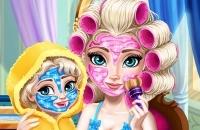 Jugar un nuevo juego: La Reina Del Hielo Mami Real Cambio De Imagen