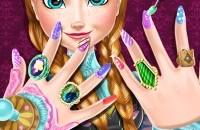 Hielo Princess Nails