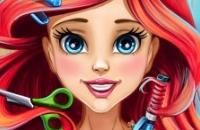 Mermaid Princesa Real Cortes De Cabelo
