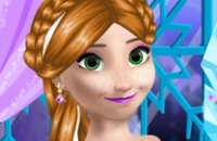 Princess Anna Party Makeover