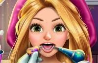 Blonde Prinzessin Echtes Zahnarzt