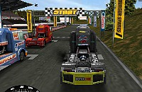 Vrachtwagen Race