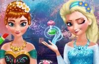 Anna E Elsa Makeover