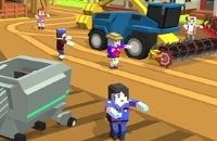 New Game: Zombie Harvester Rush