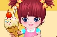 Baby-Eiscreme-Speicher